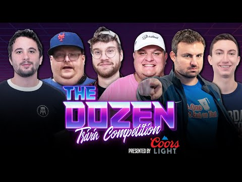 Barn-Burner Trivia Battle With Incredible Final Rounds (Ep. 073 of 'The Dozen')