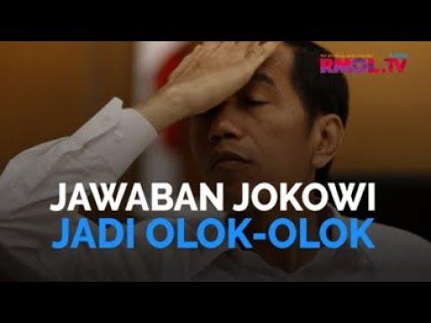 Jawaban Jokowi Jadi Olok-Olok
