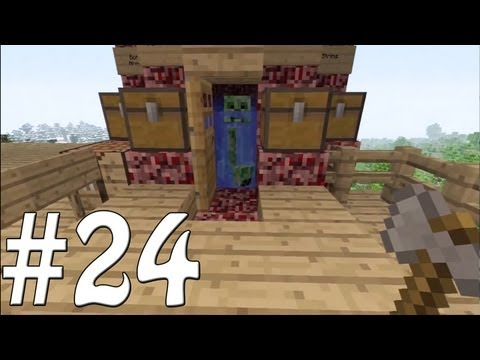 Minecraft Xbox - Sky Island Challenge - I Hate Creepers!! [24]