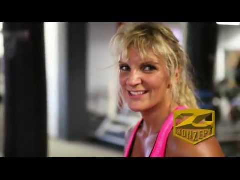 Boxerin Alicia Melina mit Z-Konzept Nutrition