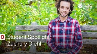 Stone Lab Student Spotlight: Zachary Diehl