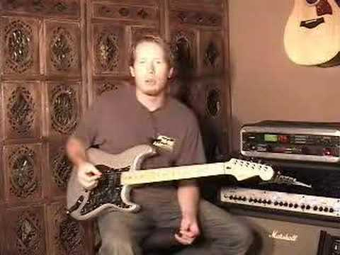 sweep - An instructional video on how to go about learning sweep picking.