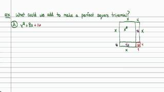 Intermediate Algebra - Completing the Square (Part A)