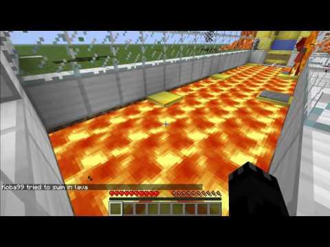 Minecraft прохождение карты DANGERIOUS PARKOUR