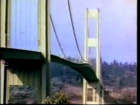 crollo del tacoma narrows bridge