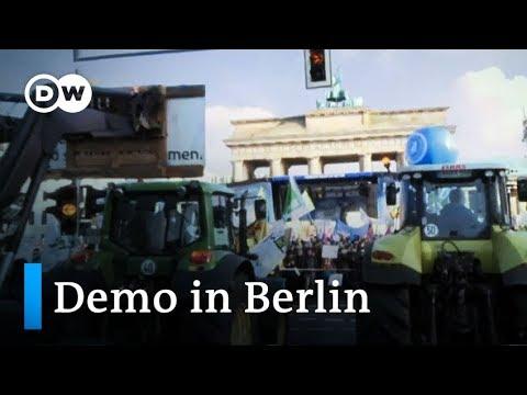 Wir haben es satt! - Demo für ökologische Landwirtschaft in Berlin   DW Nachrichten