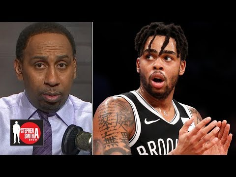 Video: Stephen A. gives props to D'Angelo Russell, Brooklyn Nets | Stephen A. Smith Show