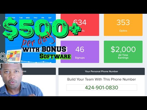 How To Make $500 A Day With Abundance Network / BONUS Software