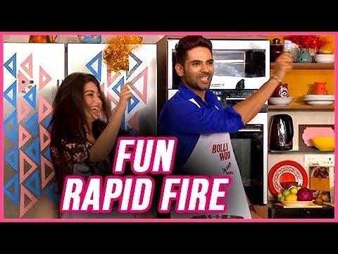 Ankit Bathla & Aditi Bhatia FUN RAPID FIRE On Divy