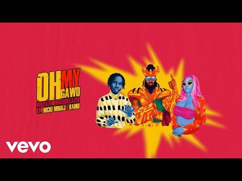 Mr Eazi & Major Lazer - Oh My Gawd (feat. Nicki Minaj & K4mo) [Visualizer]