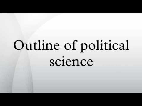 Outline of political science