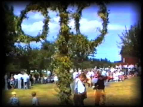 Midsummer celebration in Sweden. Midsommar i Sverige