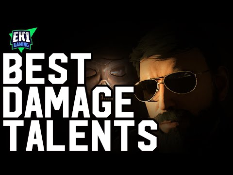 THE DIVISION 2 - BEST DAMAGE TALENTS