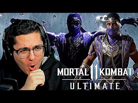 Mortal Kombat 11 Ultimate - OFFICIAL RAIN GAMEPLAY TRAILER REACTION!