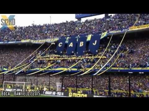 Video - COMPILADO DE LA HINCHADA / Boca - Banfield 2015 - La 12 - Boca Juniors - Argentina