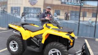 4. 2014 Can-Am Outlander 800R DPS with Warn winch and a 54