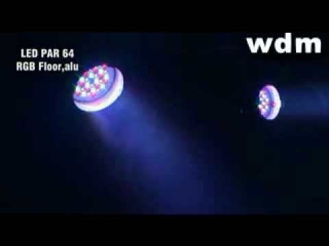 LED Par 64 RGB Demo