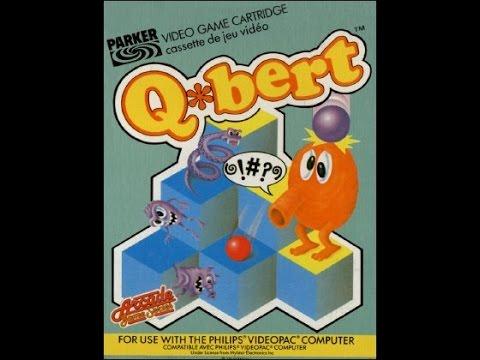 Q*Bert | Philips Spielekonsolen | G7000 / G7400 / Videopac / Videopac+