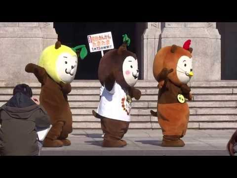 ゆるキャラダンス選手権2連覇報告会①~みやざき犬