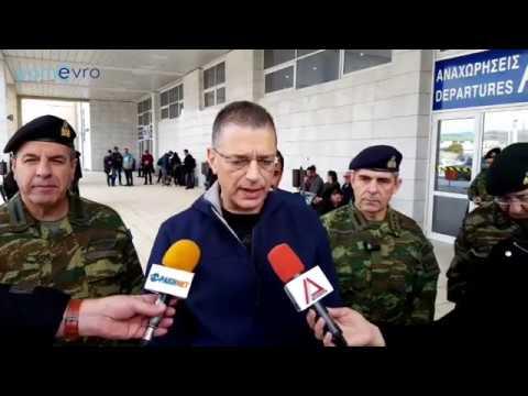 Video - Προσφυγικό: Κοινές επιχειρήσεις από Στρατό και ΕΛ.ΑΣ. για τη φύλαξη του Έβρου
