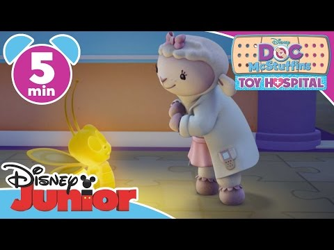 Doc McStuffins: Toy Hospital | Bouncy Babies | Disney Junior UK (видео)