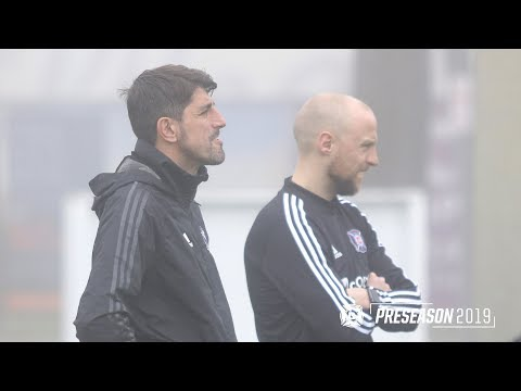 Video: Preseason 2019 | Paunović, McCarty talk preparations for Crew SC on Saturday