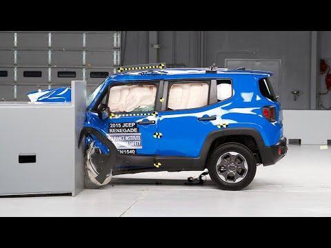 Краш тест jeep renegade фото