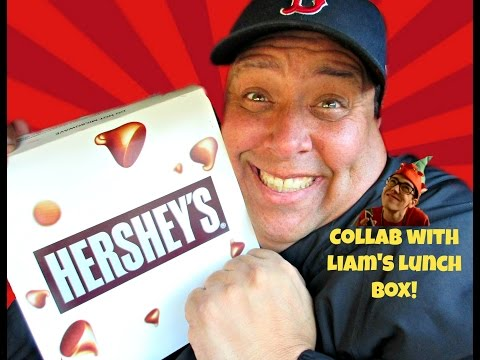 Pizza Hut® Hershey's Hot Chocolate Brownie Review w/Liam's Lunch Box!