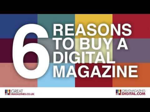 Benefits of a digital magazine
