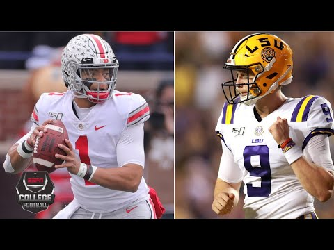 Ohio State or LSU, who deserves to be number 1?   College Football on ESPN