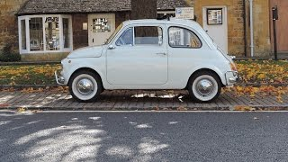 We experience the joys of driving an original 1966 Fiat 500F courtesy of Great Escape Classic Cars. Full review at http://classiccarsdriven.com