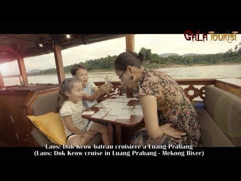 Laos: Dok Keow bateau croisière à Luang Prabang (Dok Keow boat cruise - Galatourist)