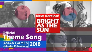 MIX Bright As The Sun - Cover by Japanese Korean Thailand! Official Song Asian Games 2018