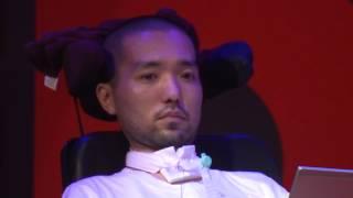 「ALSくたばれ!」死を目前にした広告プランナー藤田氏の語る99%の感謝と1%の怒りとは TEDxTokyo