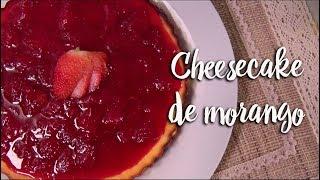 Experimente - Cheesecake de morango