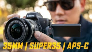 Video Why I don't shoot on Full Frame Cameras... yet | Crop Factors MP3, 3GP, MP4, WEBM, AVI, FLV Februari 2019