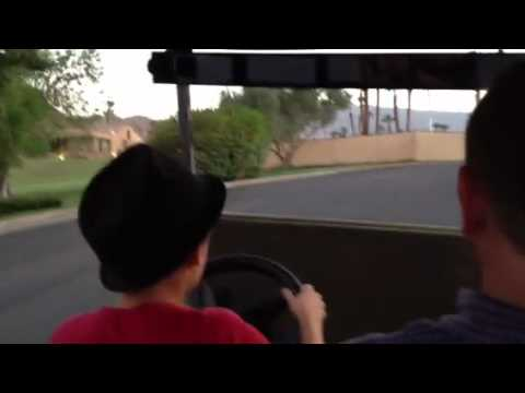 Golf cart driving lessons