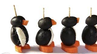 Pinguim de azeitona