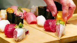 Video Japanese Street Food - TSUKIJI MARKET SUSHI SASHIMI Japan Seafood MP3, 3GP, MP4, WEBM, AVI, FLV April 2019