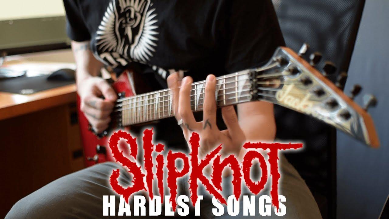Slipknot HARDEST Songs On Rhythm Guitar