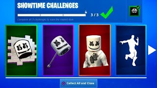HOW TO GET FREE MARSHMELLO REWARDS IN FORTNITE! [Showtime Challenges] *NEW*