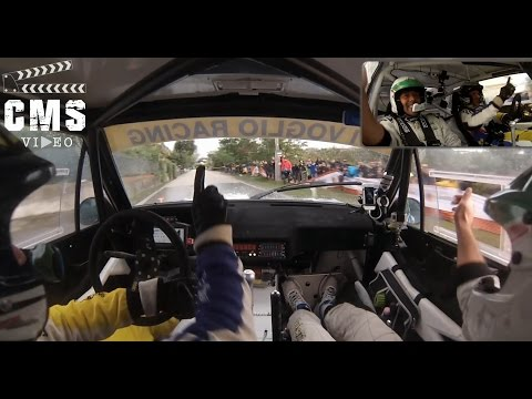 Onboard Paolo Diana - Davide Tabarini | Fíat 131 Racing Pure Show | Rally Legend 2016