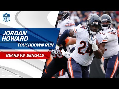 Video: Jordan Howard Finishes Off Chicago's Drive w/ Big TD Run! | Bears vs. Bengals | NFL Wk 14 Highlights