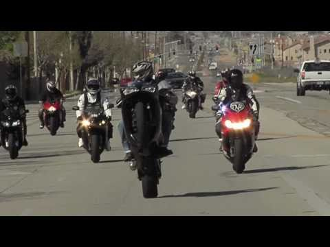 Stunts on bikes - KNS Rockstar - Top Notch Ridahz