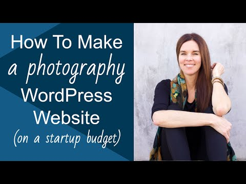 "Create A WordPress Website (FREE Photography ""HATCH"" Theme)! 2013"