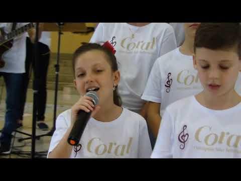 Vídeo Coral infantil Matriz São Sebastião dia 15 de Dezembro 2018