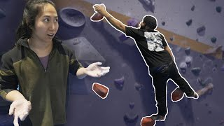 Can Xian help Omar send? by Bouldering Bobat