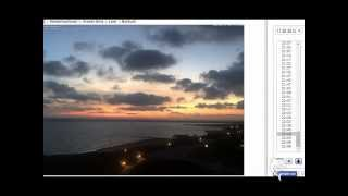 Borkum Germany  City new picture : NIBIRU - Webcam Borkum, Germany - sunset of the second sun - two suns