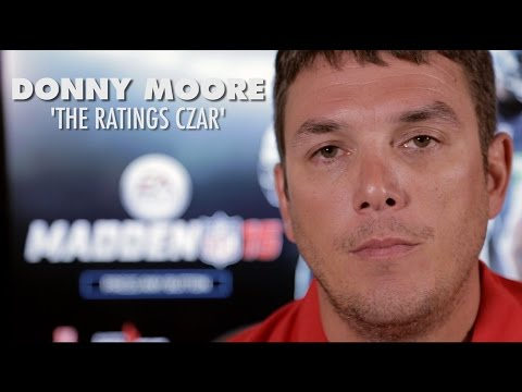 moore - With every new Madden, there are new ratings. There is one man who goes through every player, analyzes them, and rates them. This man is simply known as the 'Ratings Czar'. Meet Donny Moore,...