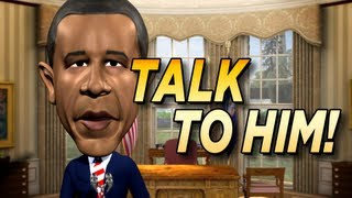 Talking Obama App YouTube video